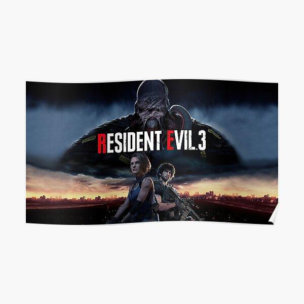 Resident Evil 3 Remake Poster