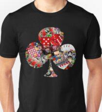Club - Las Vegas Playing Card Shape  Unisex T-Shirt