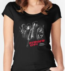 Burger City Women's Fitted Scoop T-Shirt