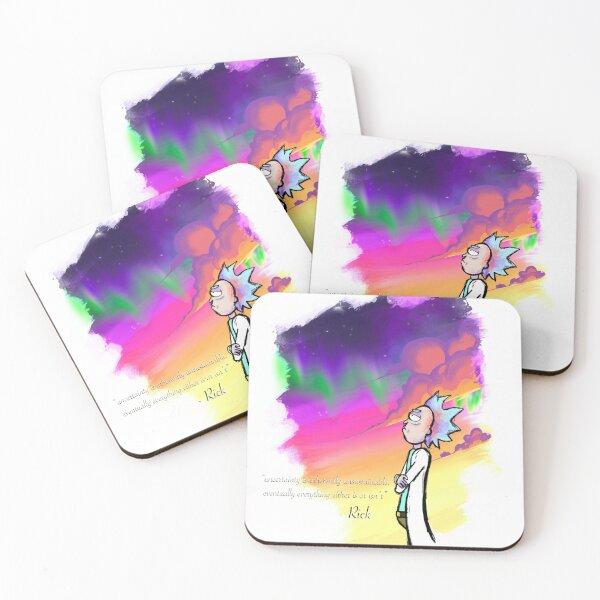 Rick Wisdom Coasters (Set of 4)