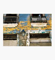 Havana Facade Photographic Print