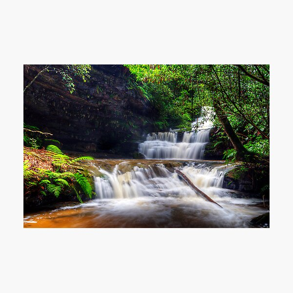 Terrace Falls After The Big Wet. Photographic Print