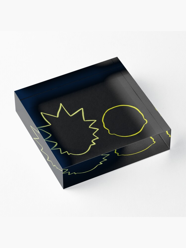 Alternate view of Rick and Morty Acrylic Block