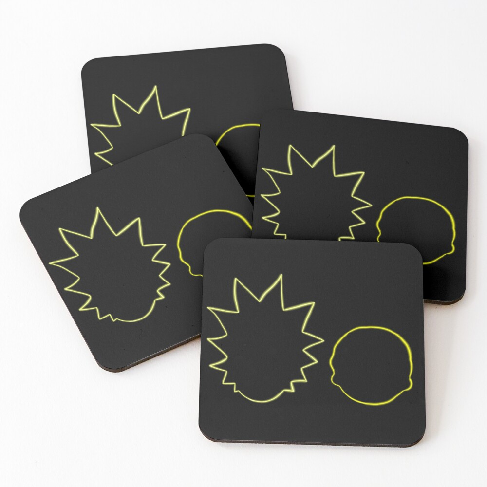 Rick and Morty Coasters (Set of 4)