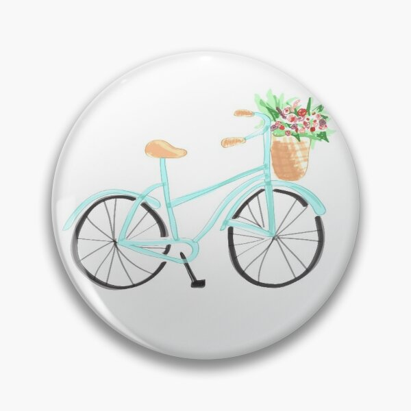 Baby Blue Bicycle Pin