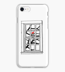 Peering out the Window iPhone Case/Skin