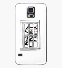 Peering out the Window Case/Skin for Samsung Galaxy