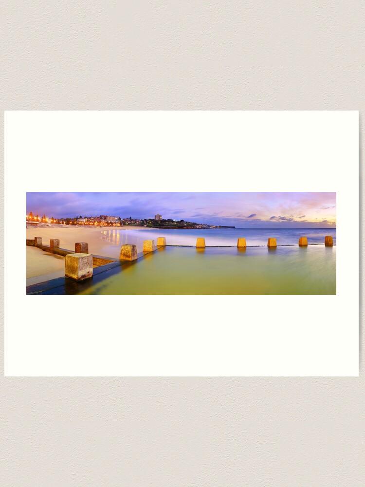 Alternate view of Coogee Beach Baths, New South Wales, Australia Art Print