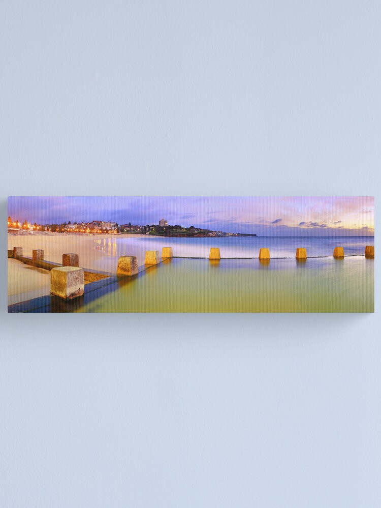 Alternate view of Coogee Beach Baths, New South Wales, Australia Canvas Print