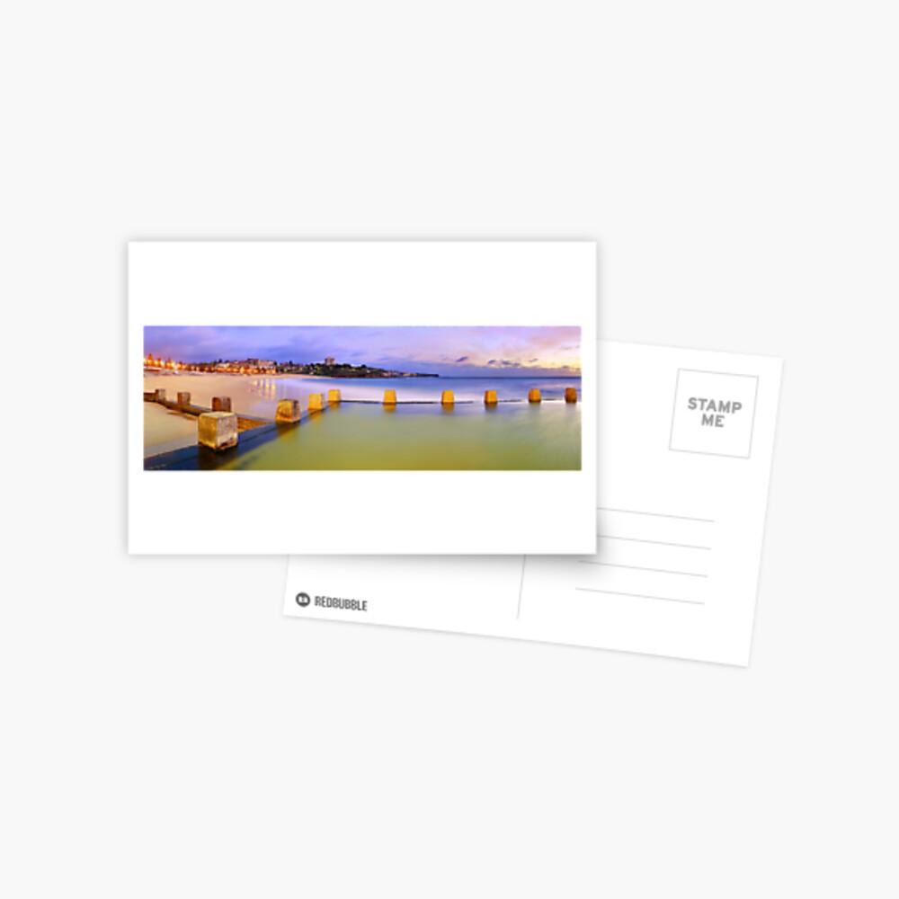 Coogee Beach Baths, New South Wales, Australia Postcard