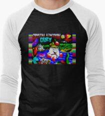 Crystal Kingdom Dizzy Men's Baseball ¾ T-Shirt
