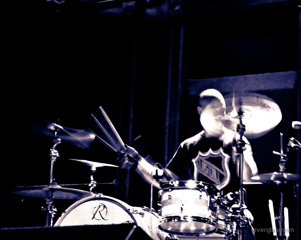 Cymbal drummer  by evergleammm