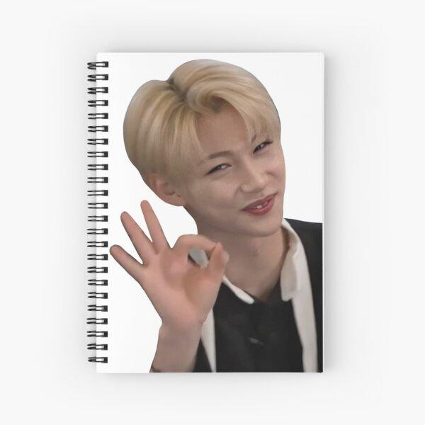 felix- stray kids Spiral Notebook
