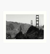 Golden Gate sf1 Art Print
