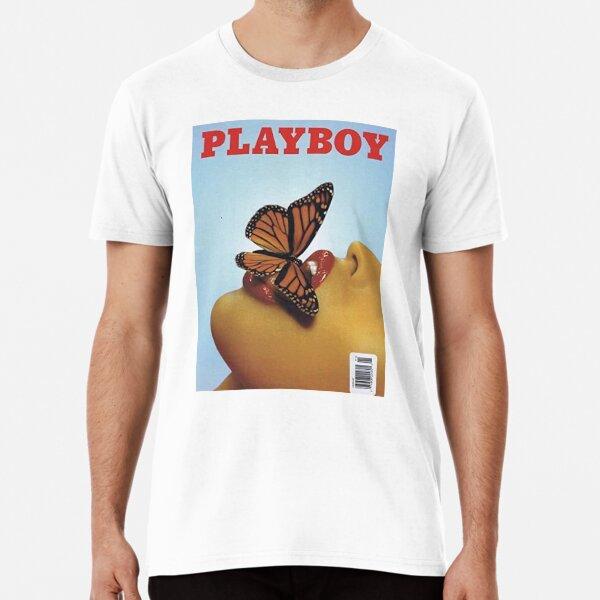 Vintage Blue Playboy Poster  Premium T-Shirt