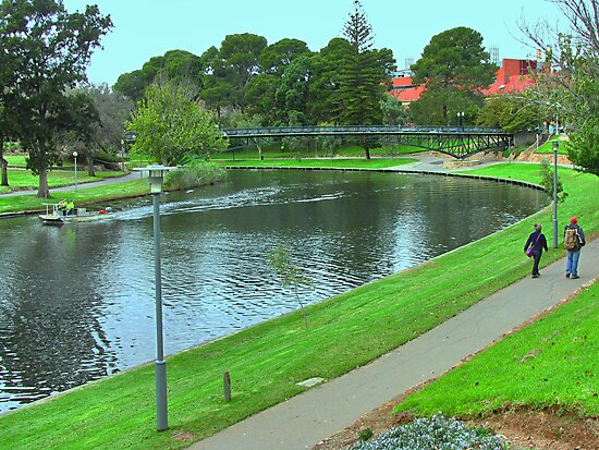 River Torrens, Australia by Geoffrey Higges