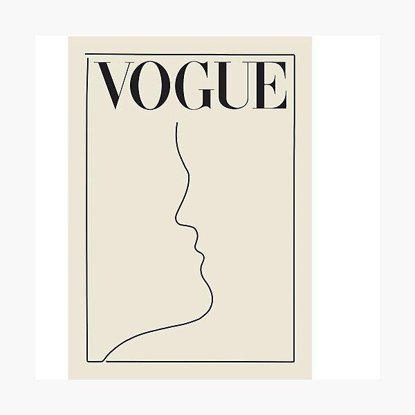 Vintage Vogue Photographic Print