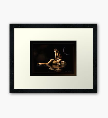 The Catch Framed Print