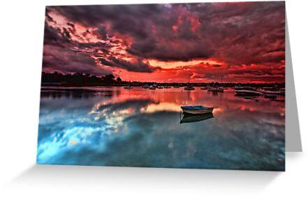 Floating Peacefully by Arfan Habib