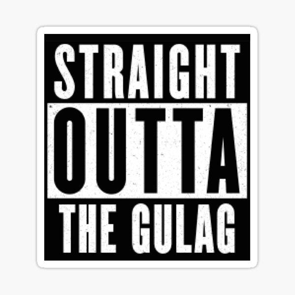 Directamente de El Gulag Pegatina
