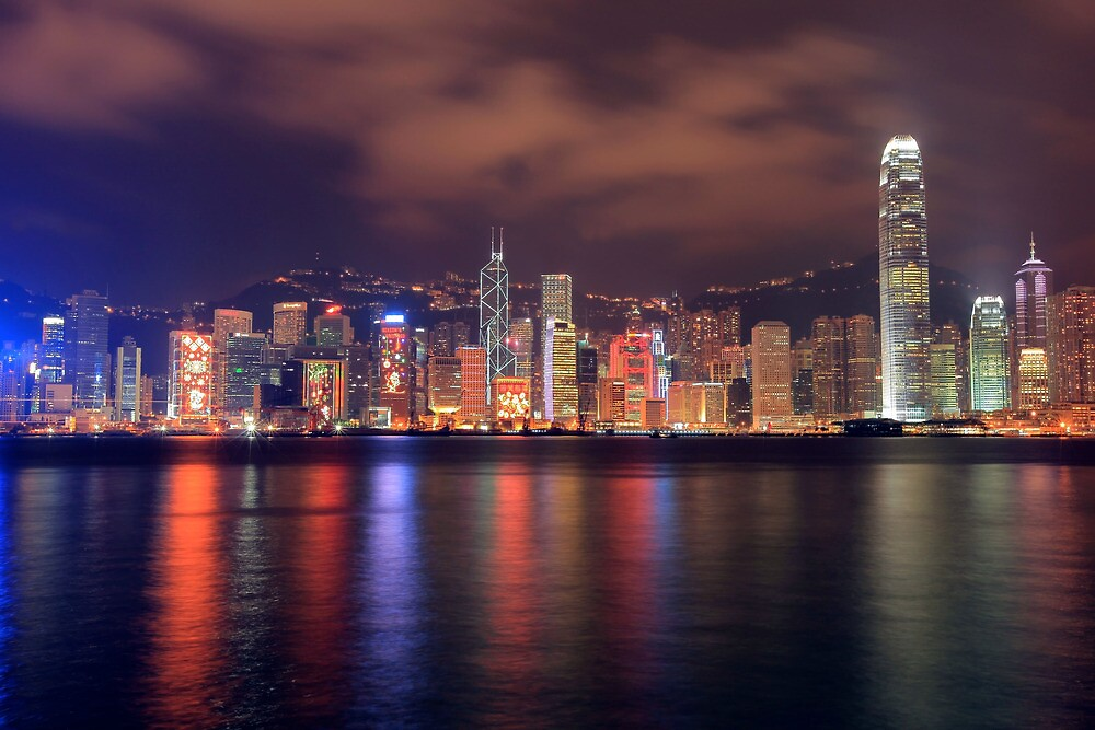 The Amazing Hong Kong Skyline. by Cameron B