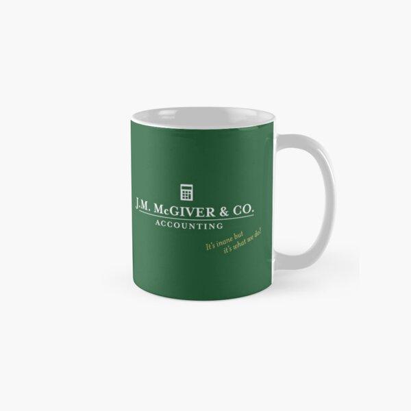 J.M. McGiver & Co. Accounting Firm Logo Art Classic Mug