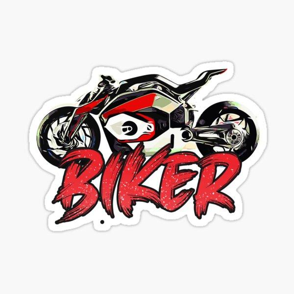 Biker Sticker