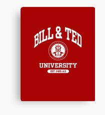 Bill & Ted University Canvas Print