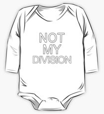 Not My Division (Black) Kids Clothes