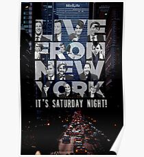 Live From New York, Saturday Night Live Poster