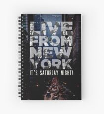 Live From New York, Saturday Night Live Spiral Notebook