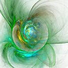 The whole world in a small flower by Fractal artist Sipo Liimatainen