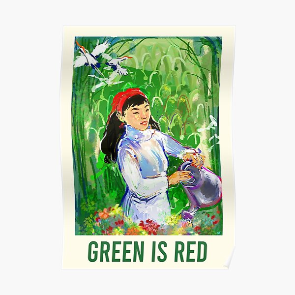 GREEN IS RED Poster