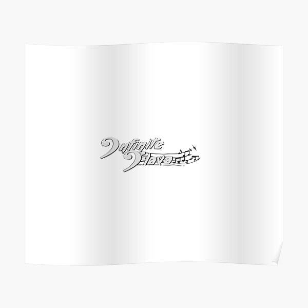 Infinite Flava logo- White Poster