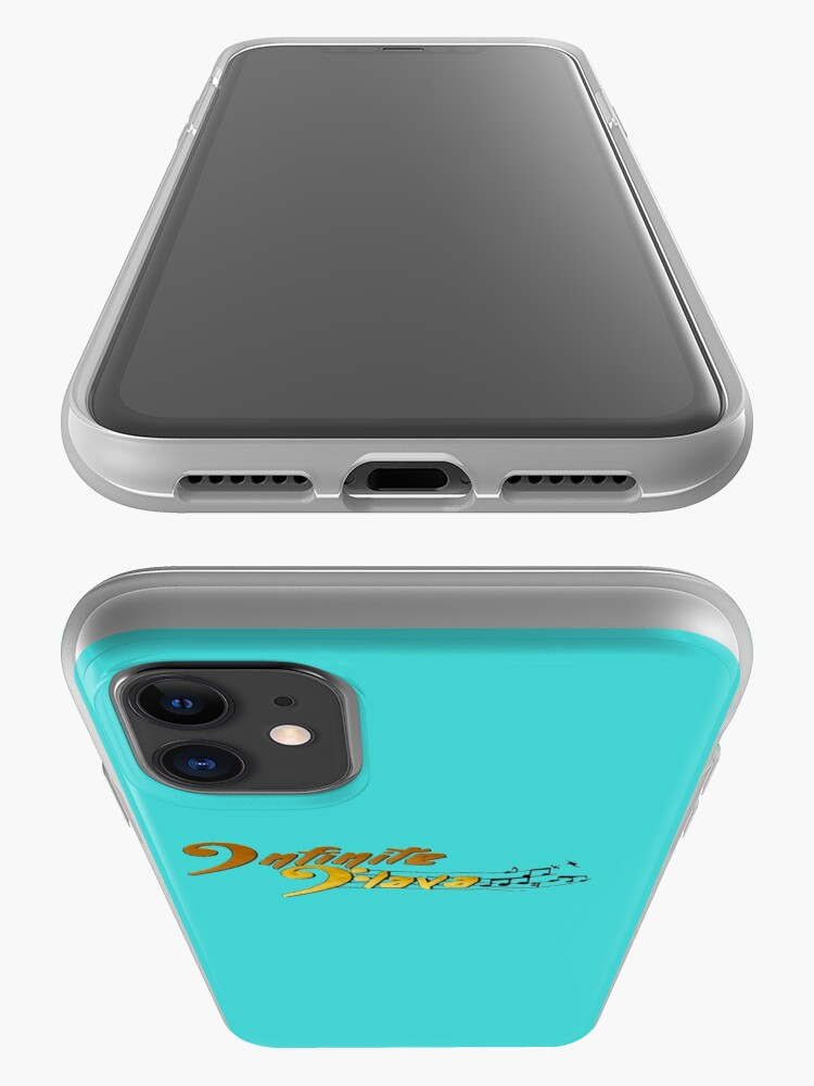 Alternate view of Infinite Flava Logo in Color iPhone Case & Cover