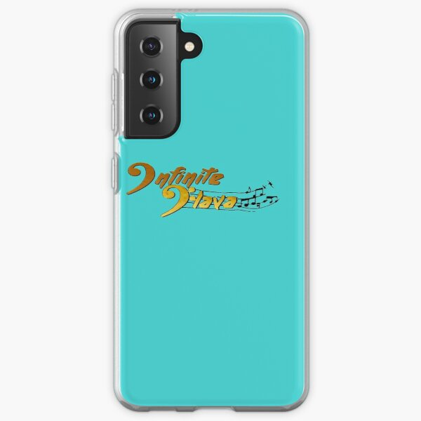 Infinite Flava Logo in Color Samsung Galaxy Soft Case