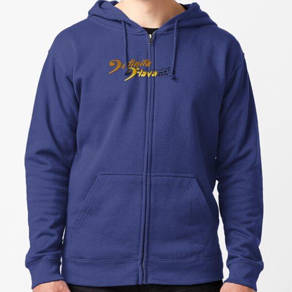Infinite Flava Logo in Color Zipped Hoodie