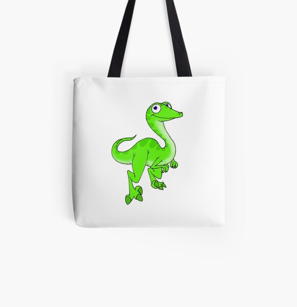 Troodon All Over Print Tote Bag