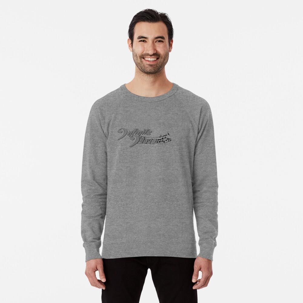 Infinite Flava Black Logo Lightweight Sweatshirt