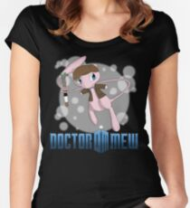 Doctor Mew Women's Fitted Scoop T-Shirt