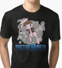 Doctor Mew Tri-blend T-Shirt