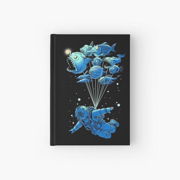 Deep Sea Travel Hardcover Journal