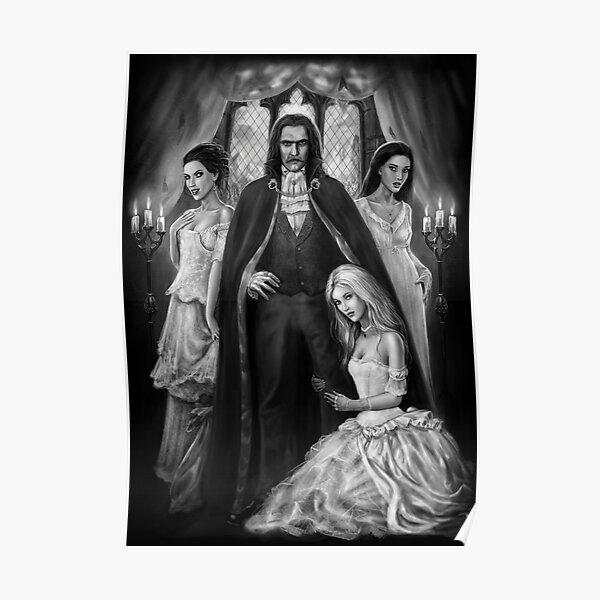 Dracula and his ladies Poster