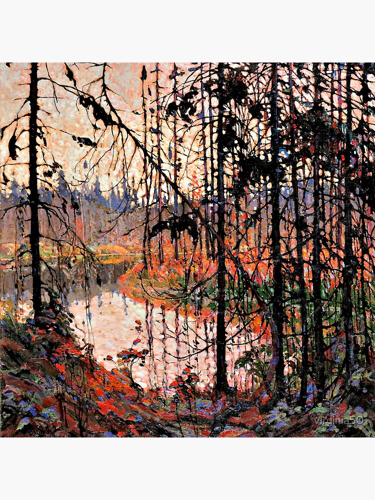 Tom Thomson - Northern River by virginia50