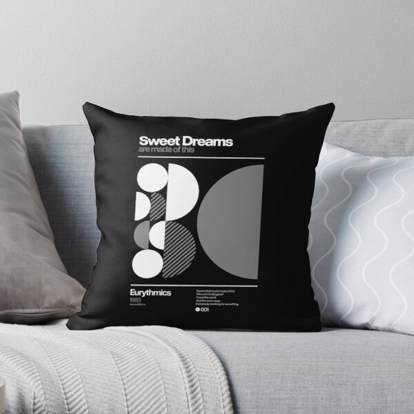 Sweet Dreams (are made of this) Throw Pillow