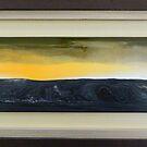 Horizon III: Sunset Rain by james black