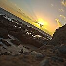 Sun setting over Victoria Beach by johnboy53