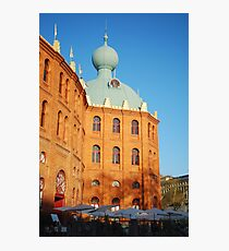 Bullfighting ring in Lisbon Photographic Print