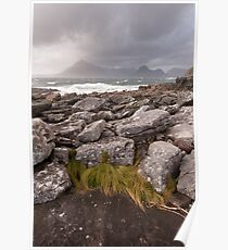 Wild day on Skye Poster