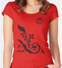 دفتر Women's Fitted Scoop T-Shirt